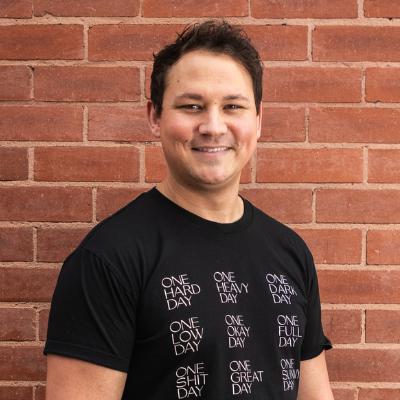 Photo of co-founder Sam